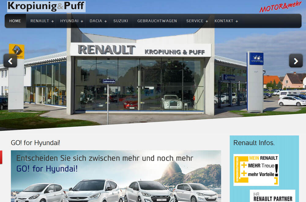 Auto Motor Welt M2online Webdesign Shopsysteme Cms