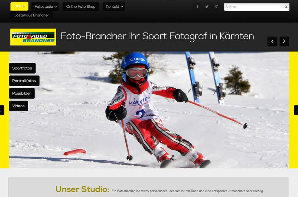 Webseite Foto Brandner