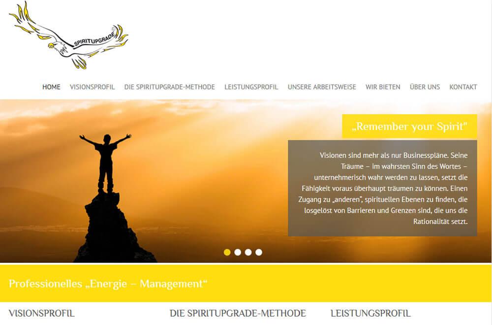 Webseite Spiritupgrade