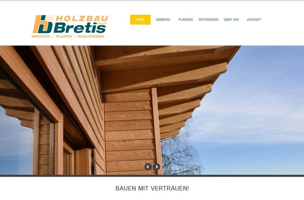 Holzbau Bretis Zimmerei