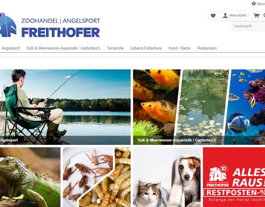 shop Zoohandel & Angelsport Freithofer